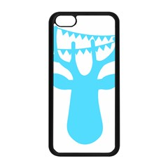 Party Deer With Bunting Apple iPhone 5C Seamless Case (Black)