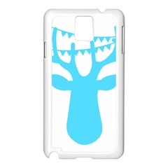 Party Deer With Bunting Samsung Galaxy Note 3 N9005 Case (White)