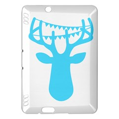 Party Deer With Bunting Kindle Fire HDX Hardshell Case