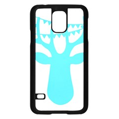 Party Deer With Bunting Samsung Galaxy S5 Case (Black)