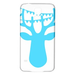 Party Deer With Bunting Samsung Galaxy S5 Back Case (White)