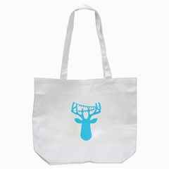 Party Deer With Bunting Tote Bag (white)