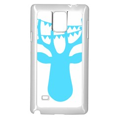 Party Deer With Bunting Samsung Galaxy Note 4 Case (white)