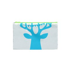 Party Deer With Bunting Cosmetic Bag (xs)