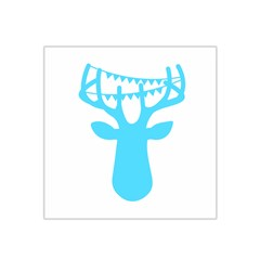 Party Deer With Bunting Satin Bandana Scarf