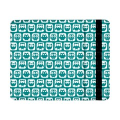 Teal And White Owl Pattern Samsung Galaxy Tab Pro 8.4  Flip Case