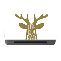 Life Is A Party Buck Deer Memory Card Reader With Cf
