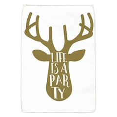 Life Is A Party Buck Deer Flap Covers (s)