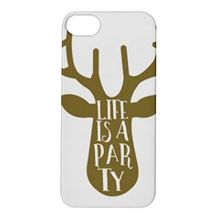 Life Is A Party Buck Deer Apple iPhone 5S Hardshell Case