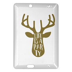 Life Is A Party Buck Deer Kindle Fire HD (2013) Hardshell Case
