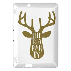 Life Is A Party Buck Deer Kindle Fire HDX Hardshell Case