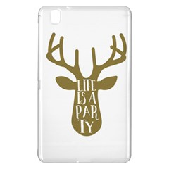 Life Is A Party Buck Deer Samsung Galaxy Tab Pro 8.4 Hardshell Case