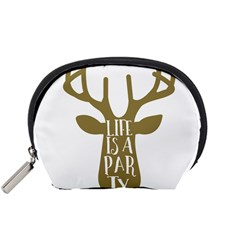Life Is A Party Buck Deer Accessory Pouches (small)