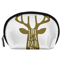 Life Is A Party Buck Deer Accessory Pouches (Large)