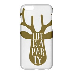 Life Is A Party Buck Deer Apple iPhone 6 Plus/6S Plus Hardshell Case