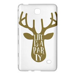 Life Is A Party Buck Deer Samsung Galaxy Tab 4 (7 ) Hardshell Case
