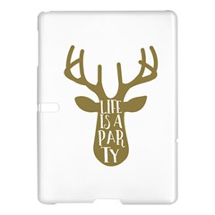 Life Is A Party Buck Deer Samsung Galaxy Tab S (10.5 ) Hardshell Case