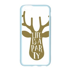 Life Is A Party Buck Deer Apple Seamless iPhone 6 Case (Color)