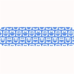 Blue And White Owl Pattern Large Bar Mats
