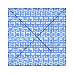 Blue And White Owl Pattern Acrylic Tangram Puzzle (6  x 6 )