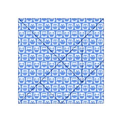 Blue And White Owl Pattern Acrylic Tangram Puzzle (4  X 4 )
