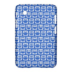 Blue And White Owl Pattern Samsung Galaxy Tab 2 (7 ) P3100 Hardshell Case