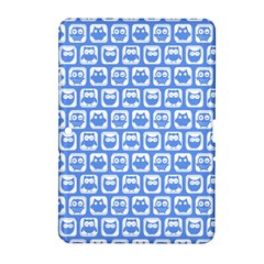 Blue And White Owl Pattern Samsung Galaxy Tab 2 (10.1 ) P5100 Hardshell Case