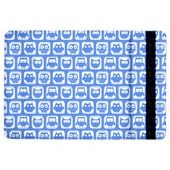 Blue And White Owl Pattern iPad Air 2 Flip
