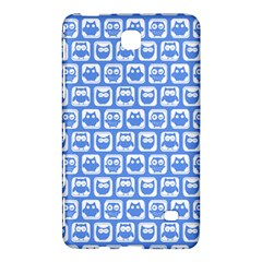 Blue And White Owl Pattern Samsung Galaxy Tab 4 (7 ) Hardshell Case