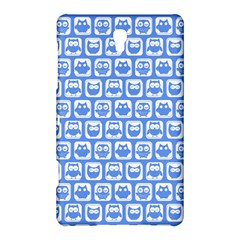 Blue And White Owl Pattern Samsung Galaxy Tab S (8 4 ) Hardshell Case