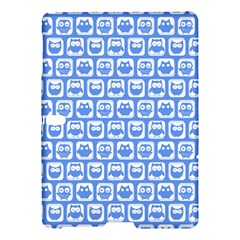 Blue And White Owl Pattern Samsung Galaxy Tab S (10 5 ) Hardshell Case