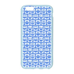 Blue And White Owl Pattern Apple Seamless iPhone 6 Case (Color)