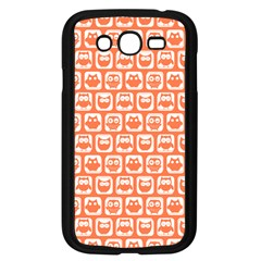 Coral And White Owl Pattern Samsung Galaxy Grand DUOS I9082 Case (Black)