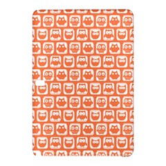 Coral And White Owl Pattern Samsung Galaxy Tab Pro 10.1 Hardshell Case