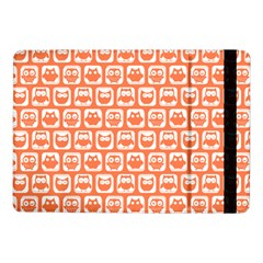 Coral And White Owl Pattern Samsung Galaxy Tab Pro 10.1  Flip Case