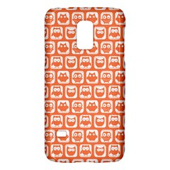 Coral And White Owl Pattern Galaxy S5 Mini
