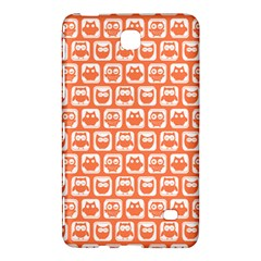 Coral And White Owl Pattern Samsung Galaxy Tab 4 (8 ) Hardshell Case