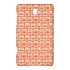 Coral And White Owl Pattern Samsung Galaxy Tab S (8 4 ) Hardshell Case