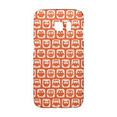 Coral And White Owl Pattern Galaxy S6 Edge