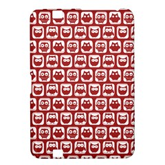 Red And White Owl Pattern Kindle Fire HD 8.9