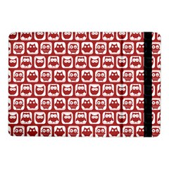 Red And White Owl Pattern Samsung Galaxy Tab Pro 10.1  Flip Case