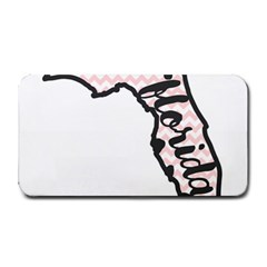 Florida Map Pride Chevron Medium Bar Mats