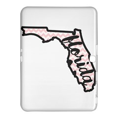 Florida Map Pride Chevron Samsung Galaxy Tab 4 (10.1 ) Hardshell Case