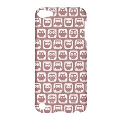Light Pink And White Owl Pattern Apple iPod Touch 5 Hardshell Case