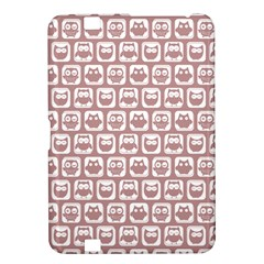 Light Pink And White Owl Pattern Kindle Fire HD 8.9