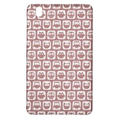 Light Pink And White Owl Pattern Samsung Galaxy Tab Pro 8.4 Hardshell Case