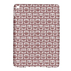 Light Pink And White Owl Pattern iPad Air 2 Hardshell Cases