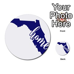 Florida Home  Multi-purpose Cards (Round)