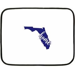 Florida Home  Fleece Blanket (mini)