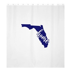 Florida Home  Shower Curtain 66  x 72  (Large)